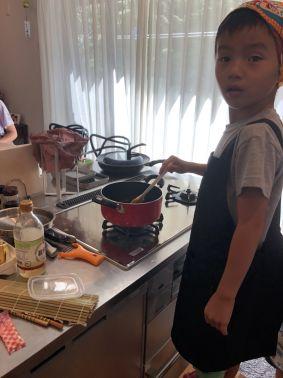 男の子も女の子も積極的にお料理してくれました☆