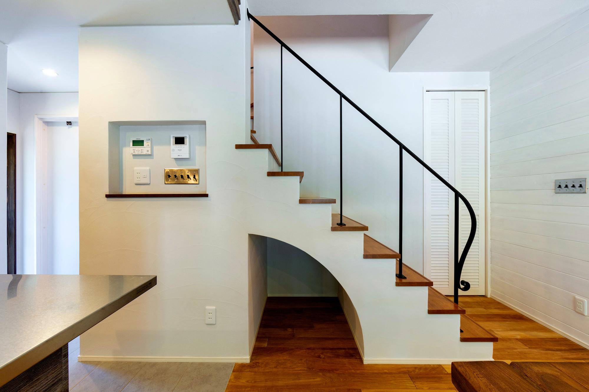 インテリアのような階段